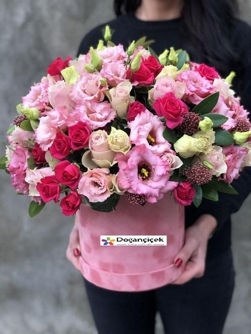 Kutuda Listantus Tasarım Çiçek