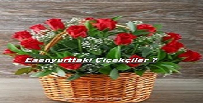 Esenyurttaki çiçekçiler